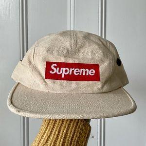 Supreme Canvas Camp Cap